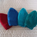 *Special * 4 beanies: (1-3yrs): Washable, unisex, winter, soft