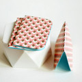 Mini Blank Books {3} Pink Bronze | Mini Notebooks | Pink Notebooks | Paper Lover