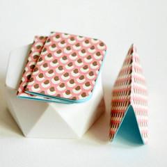 Mini Blank Books {3} Pink Bronze | Mini Notebooks | Pink Notebooks | Paper Lover