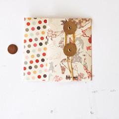 Button Envelopes {2w cards} Dots   String Tie Envelopes   Christmas Pockets