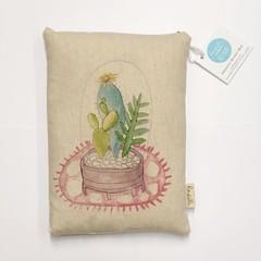 Succulent Garden Organic Wheat Bag