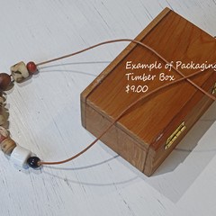 Presentation box for necklaces.