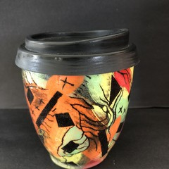 """Kodakrome""Coffee Cup. Reusable /Travel Cups"