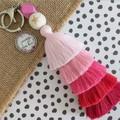 Courage dear heart - Tassel keyring/bag tag