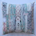 Cushion cover - Bunny - one of a kind