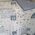 Baby quilt, baby blanket, baby quilts, baby blankets, cot quilt woodland quilt
