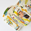 Paper Sachets {12} French Story Mix | Recycled Stationery | Ecofriendly Paper