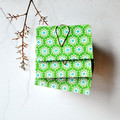 Mini Books {3} Green Floral Books Blank | Mini Notebooks | Mini Journals | Green