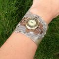 Winged Steampunk Watch Cuff