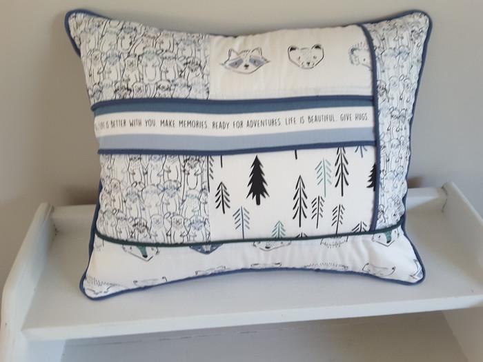 Woodland Nursery Cushion Decorative