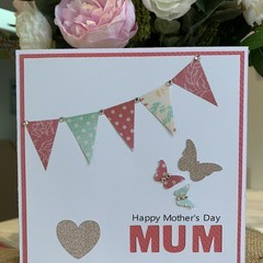 Handmade Mother's Day Card for Mum