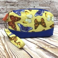 Butterfly Bliss  Zip Pouch/Wristlet