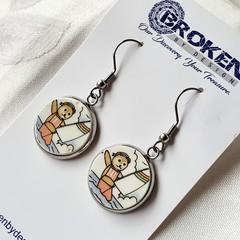 Sailor Teddy Earrings