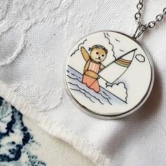 Sailor Teddy Bear pendant