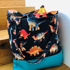 Dino Shopping Bag