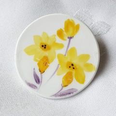 Vintage Daffodil Brooch