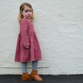 Heidi Dress in Garnet