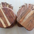 Personalised Etched Timber Acacia Boards - Pizza Board