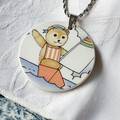 Large Sailor Teddy Pendant