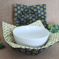 Bowl Cosies- Grey and Green