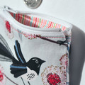 Coin Purse, small zipper pouch, Australian zipper pouch, medicine pouch, bird co