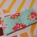 Handy Tea Bag Wallet--Shaby chic floral print