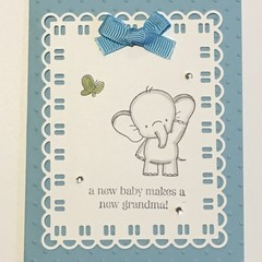 baby announcement Card - free postage