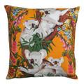 Vintage Retro Cute Koalas & Wildflowers Cushion Cover