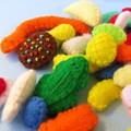 DIGITAL FELT SEWING PATTERN - Aussie Mixed Lollies - Australian Felt play food