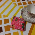 Handy Tea Bag Wallet- Fruit and floral print