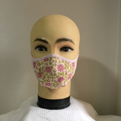 Ladies   Reusable face Mask with ties