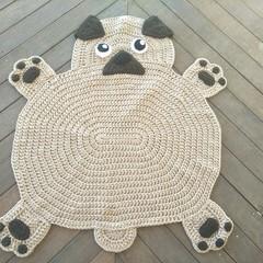 The Pug-fect Pug Rug