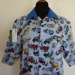 Men's short sleeved shirt - Classic Cars