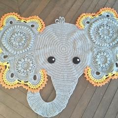 Jeffery/ Josefina Elephant Floor Rug