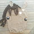 Chestnut the Loyal Horse Floor Rug