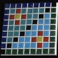 Mosaic Pixel Coaster#7