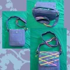 Denim Shoulder Bag / Purse