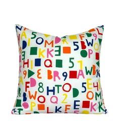 Kids abc Alphabet Pillow.