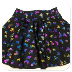 Butterfly Lycra Twirly Skirt.