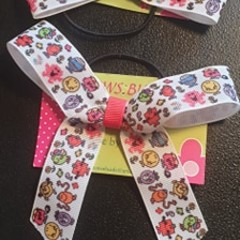 Little Mr and Miss character bows