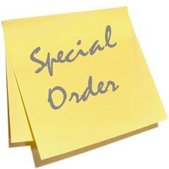 Special order for Carmel