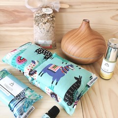 Aromatherapy Calming Kit With Heat Pack & Eye Pillow, Diffuser and much more
