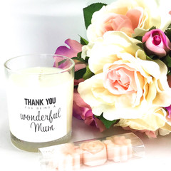Mother's Day, luxury soy candle, soy candles, deluxe candle, gift pack