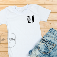 Pocket initial t-shirt