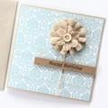Handmade Birthday Card, Flower Card For Her, For Mum, Grandma, Nan