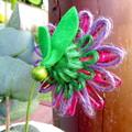 Flower Stem Jute Twine Paper Raffia Vase Decor Butterfly Mother's Day Gift