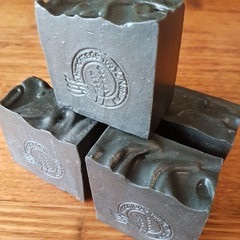 Charcoal and Birch Tar Bar - For troubled skin (Palm oil free)
