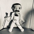 Freddy Mercury Crochet Doll Made To Order