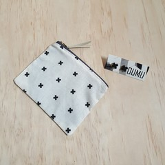Gift pack special: OUMU coin purse and a pair of earrings