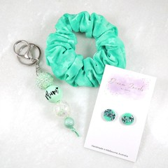 Mother's Day gift set - seafoam green